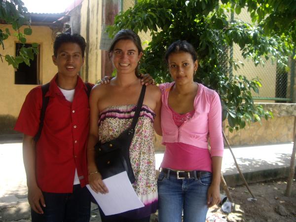 Luis, Iria e Eugenia